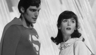 "Margot Kidder w filmie ""Superman"""