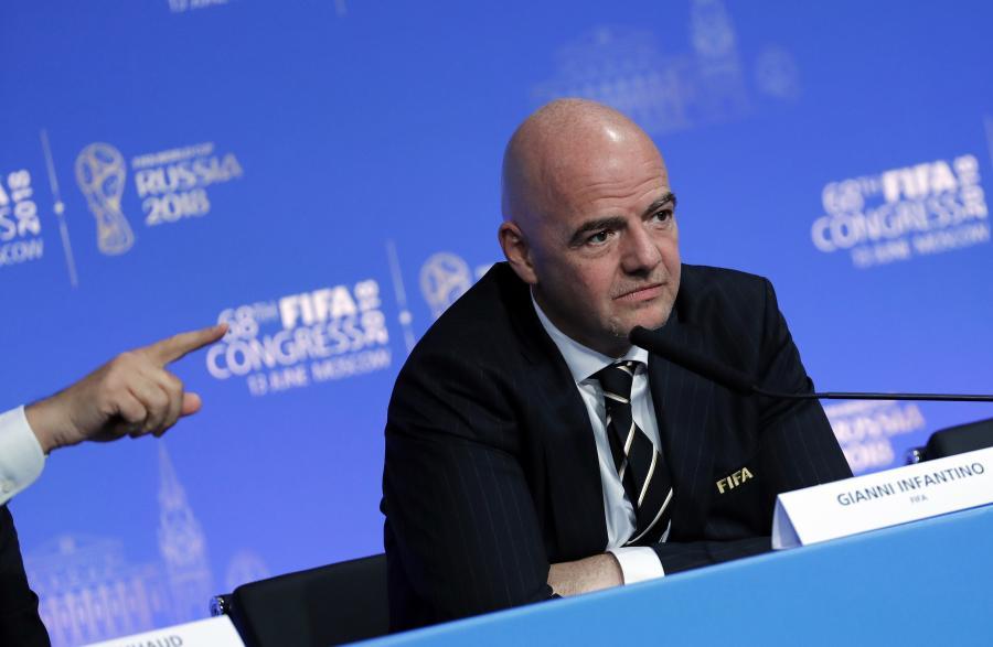 Prezydent FIFA Gianni Infantino