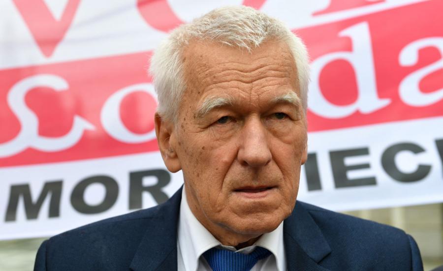 Marszałek senior Kornel Morawiecki