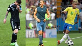 Lionel Messi, Manuel Neuer, Neymar
