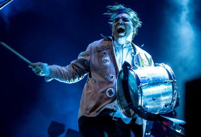 Arcade Fire podczas koncertu w stolicy Węgier, Budapeszcie. 17 czerwca 2018