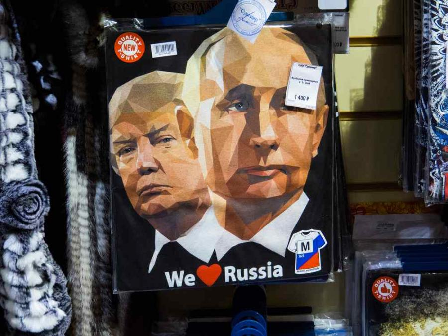 Trump i Putin  Diego Fiore Shutterstock