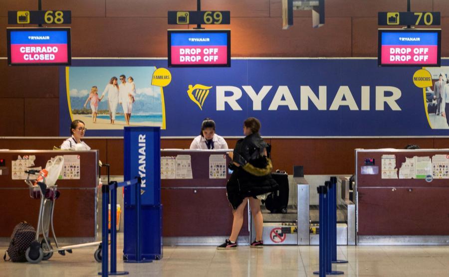 Ryanair odwołał ponad 600 połączeń z powodu strajku