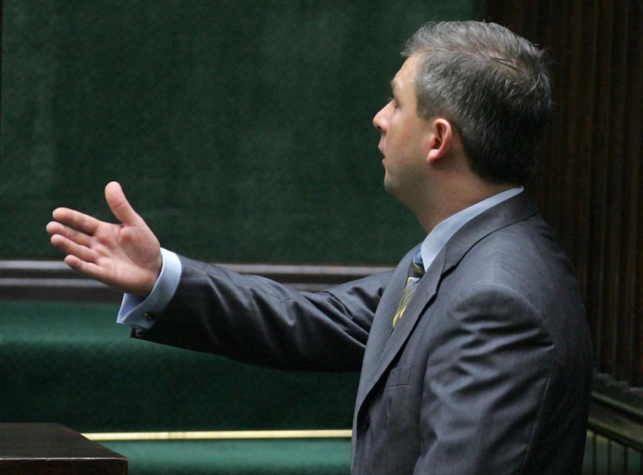 Grzegorz Napieralski skrytykowany przez marszałka Komorowskiego za swoje zachowanie w Sejmie