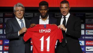 Thomas Lemar (w środku)