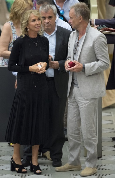 Sting z żoną Trudie Styler