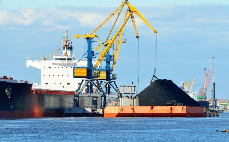 Port, załadunek węgla