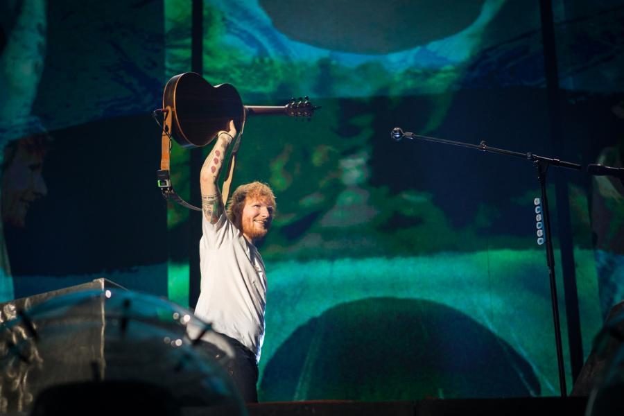 Ed Sheeran - koncert w Waszawie, 12 sierpnia 2018 fot. Charm Music/ mat. promocyjne