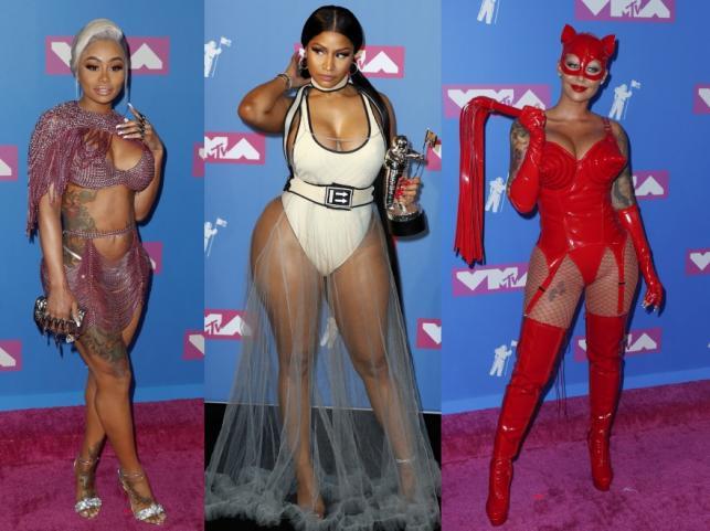 Blac Chyna, Nikki Minaj i Amber Rose