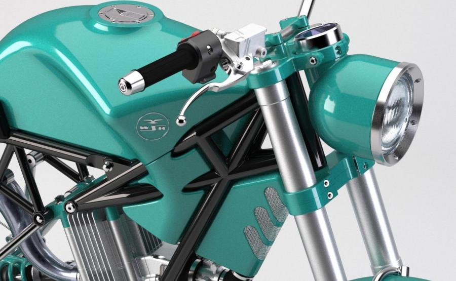 Motocykl WSK Legenda Polskich Drog Wraca Jako Nowa Konstrukcja