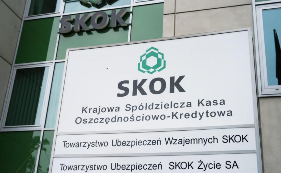 Siedziba główna Krajowej Kasy Oszczednościowo-Kredytowej SKOK