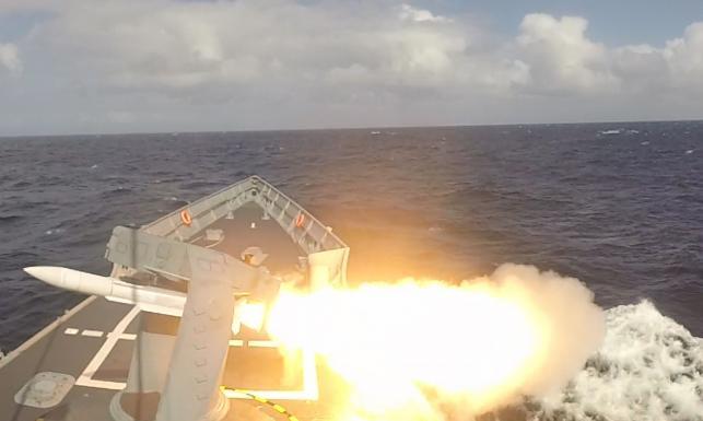 Tak załoga fregaty ORP Pułaski testowała rakiety SM-1 [GALERIA]