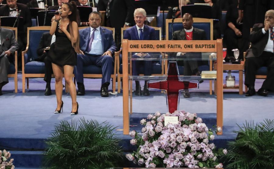 Pogrzeb Arethy Franklin
