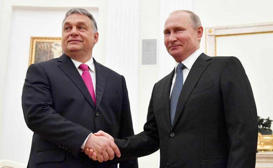 Wiktor Orban i Władimir Putin