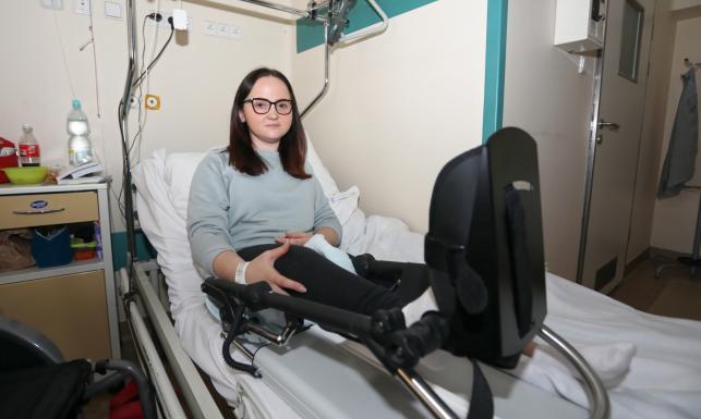 Wydłużenie kości przy użyciu... gwoździa. Niezwykła operacja w Krakowie