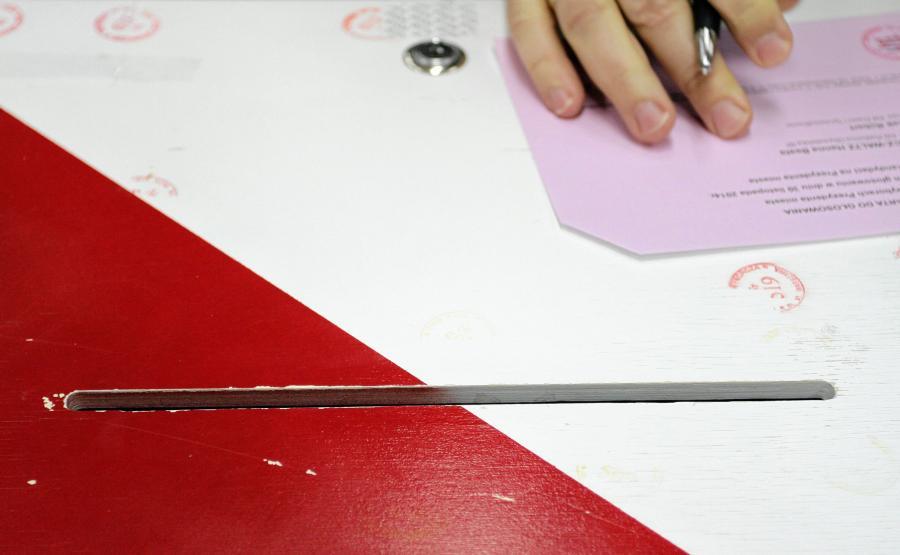 Urna wyborcza / zdjęcie poglądowe