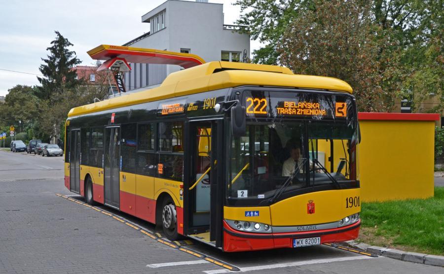 Autobus elektryczny firmy Solaris