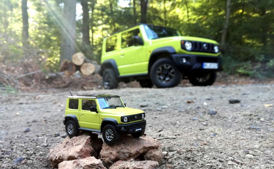 Suzuki Jimny czwartej genracji - nowy silnik, nowe nadwozie i właściwości jezdne na wyższym poziomie