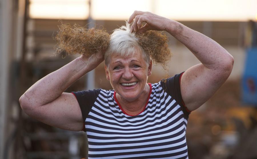 Pani Ania po przejściu na emeryturę chce malować obrazy