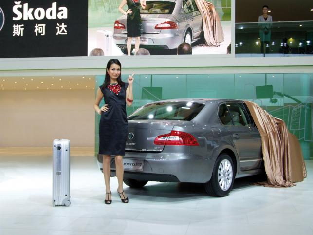 Skoda superb hao rui