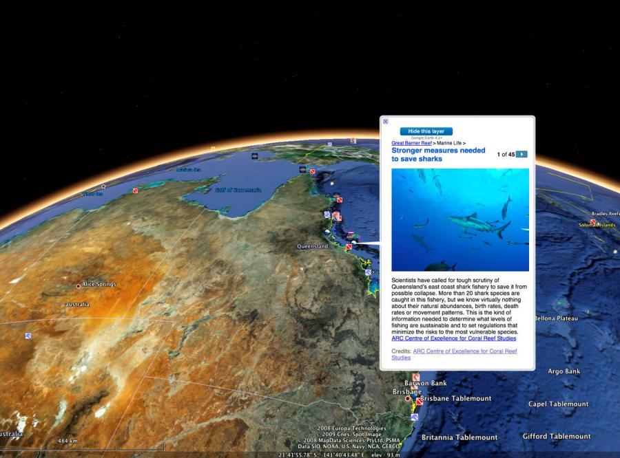 Wodny świat według Google\'a