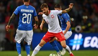Mecz Polska - Włochy w poprzedniej serii Ligi Narodów