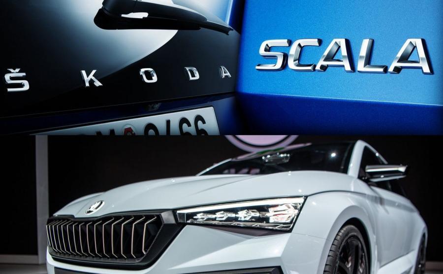 SCALA to także pierwszy europejski model, w którym na pokrywie bagażnika zamiast logo marki będzie duży napis SKODA