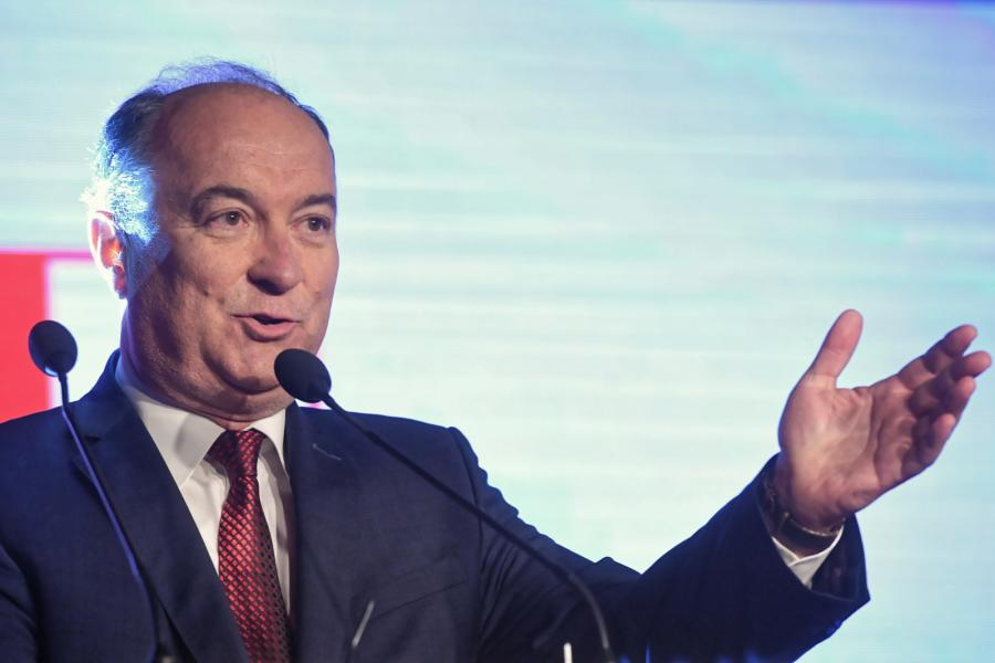 Lider Sojuszu Lewicy Demokratycznej Włodzimierz Czarzasty.