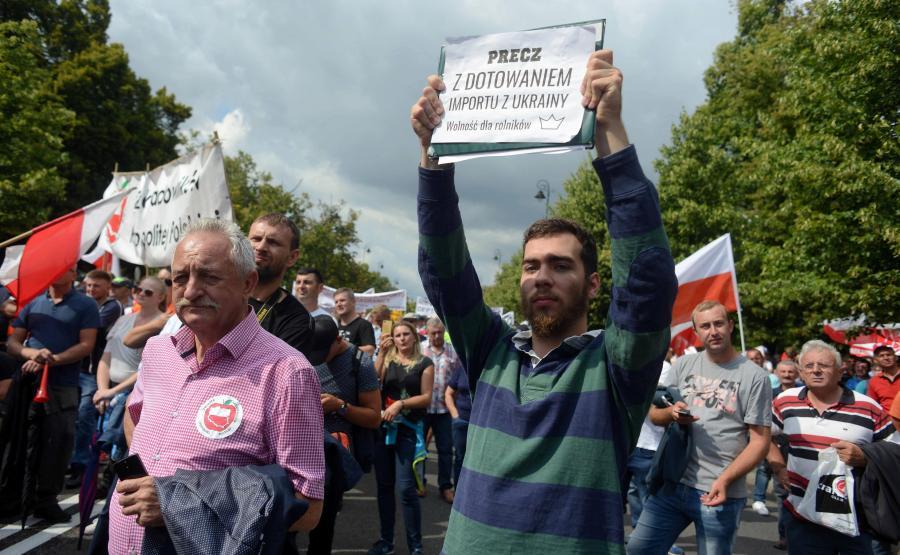 Lipcowy protest rolników