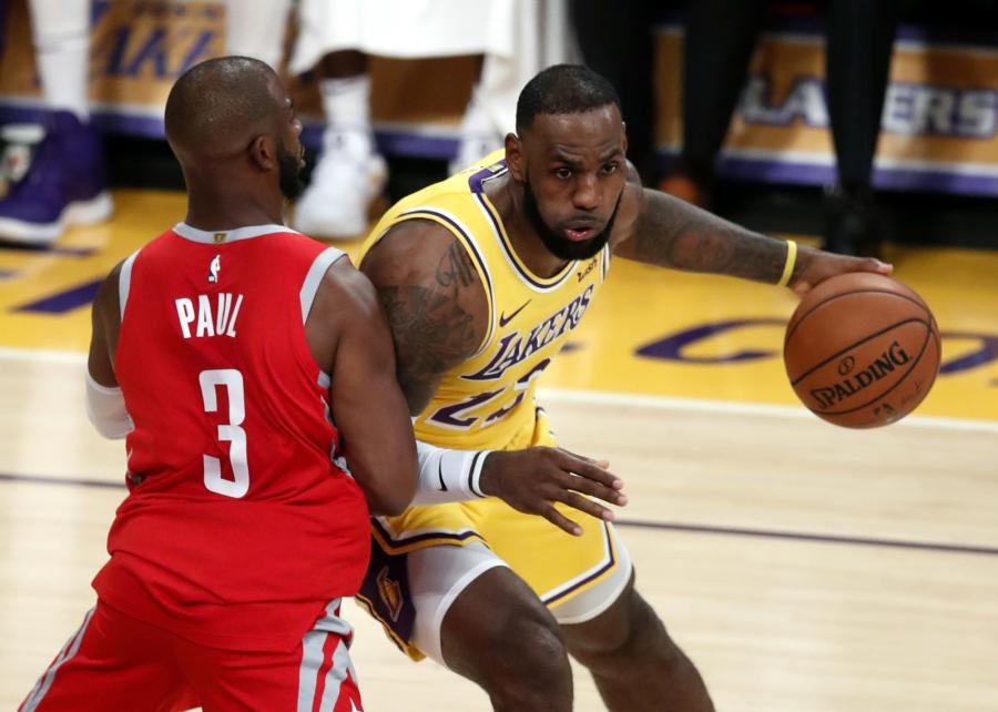 LeBron James i Chris Paul