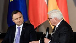 prezydent Andrzej Duda i prezydent Frank Walter Steinmeier