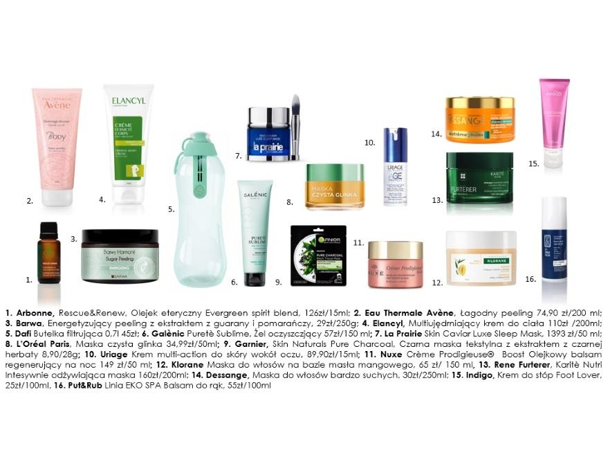 Kosmetyki do domowego SPA