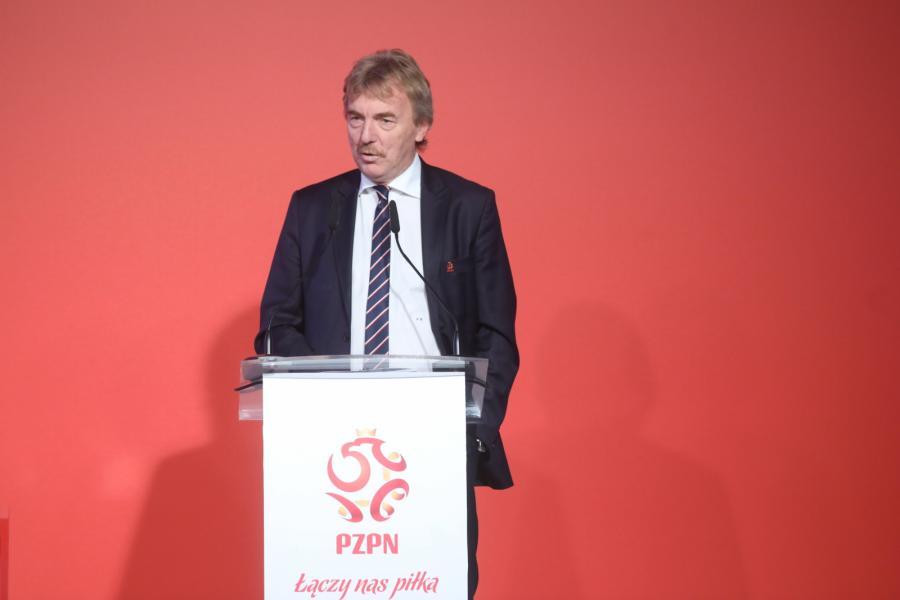 Prezes PZPN Zbigniew Boniek