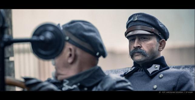 Borys Szyc jako Józef Piłsudski / fot. Jarosław Sosiński / SF KADR