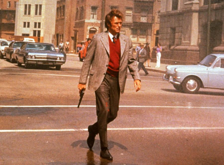 Clint Eastwood jako Brudny Harry