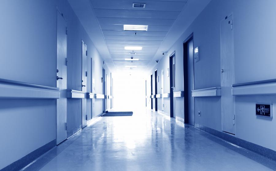 Korytarz w szpitalu