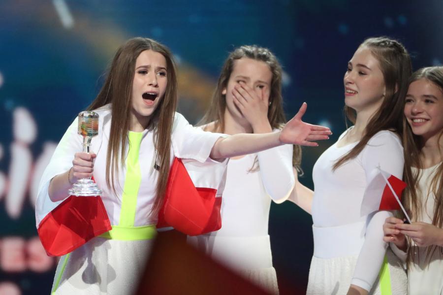 mid-epa071898Roksana Węgiel podczas konkursu Eurowizja 2018 18