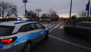 Mazowieckie: 16-latek zginął na przejściu dla pieszych w Tarczynie