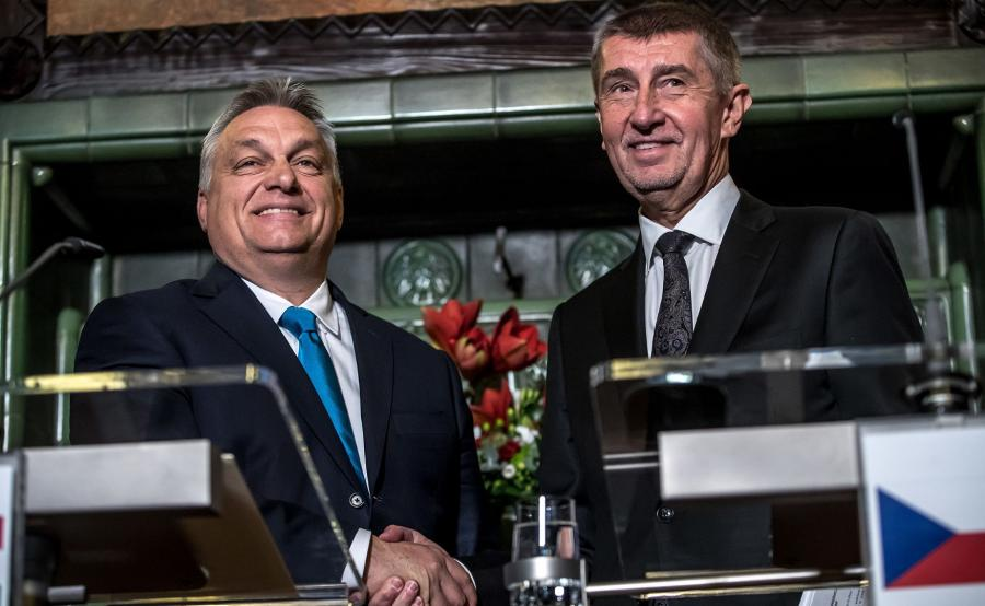 Viktor Orban i Andrej Babisz