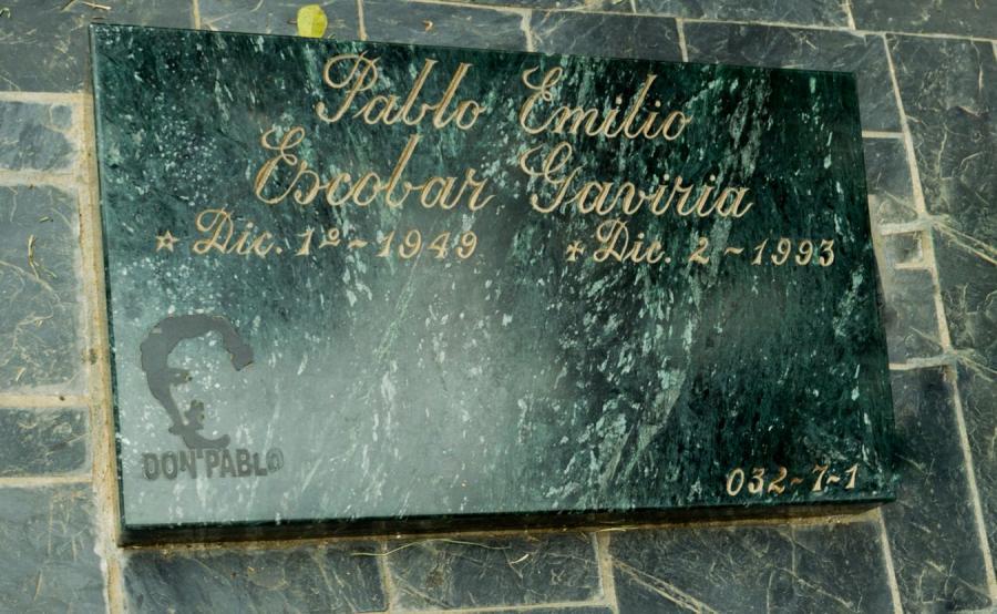 Grób Pablo Escobara