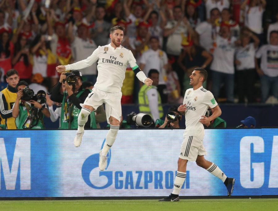 Sergio Ramos (z lewej)