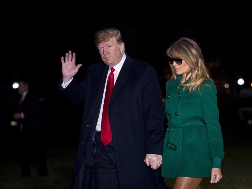 Donald i Melania Trumpowie