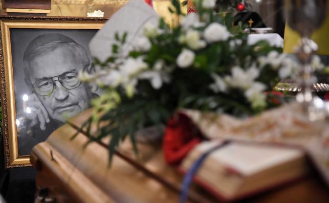 Pogrzeb bp. Tadeusza Pieronka