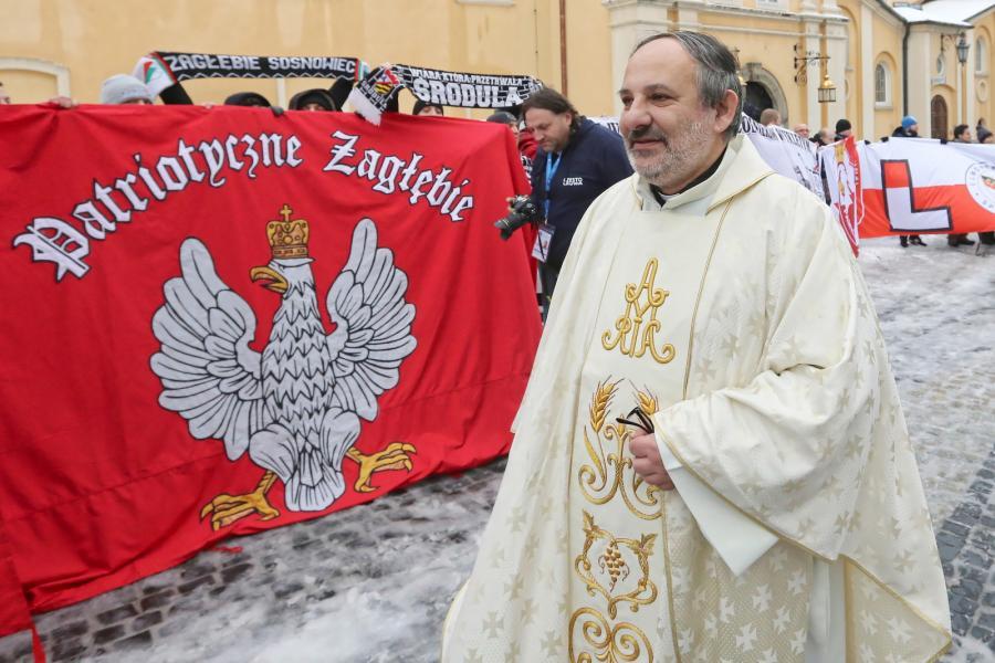 Ks. Tadeusz Isakowicz-Zaleski. XI Patriotyczna Pielgrzymka kibiców na Jasną Górę