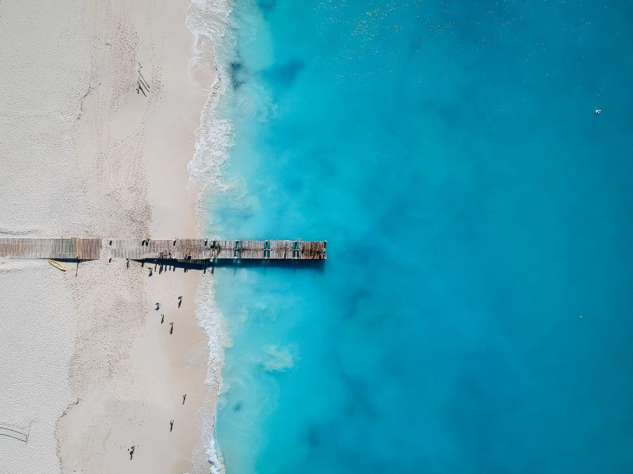 Grace Bay,wyspa Providenciales, Turks i Caicos, miejsce 6