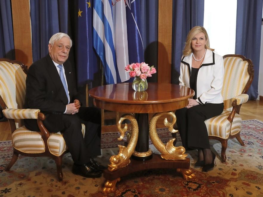 Prokopios Pavlopoulos i Kolinda Grabar-Kitarović