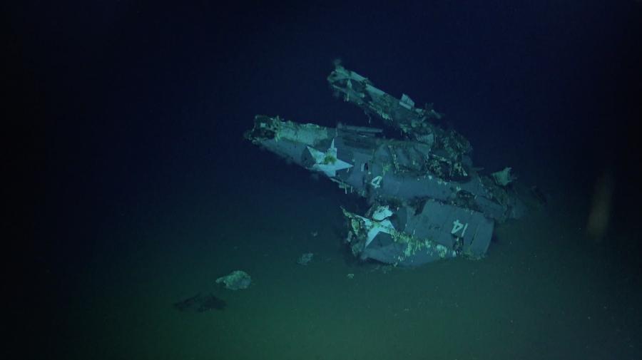 Wrak USS Hornet