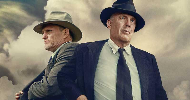 Kevin Costner i Woody Harrelson w filmie \