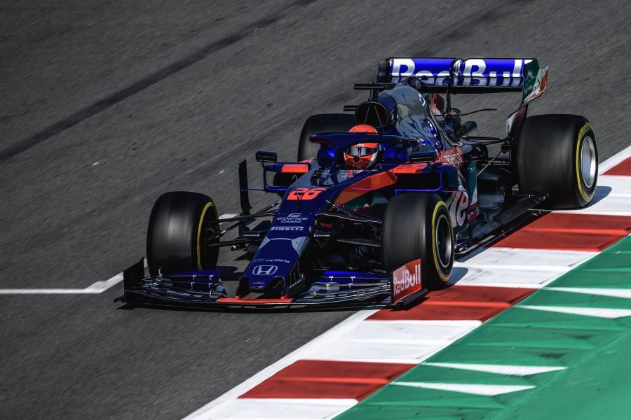 Toro Rosso: Daniił Kwiat, Alexander Albon