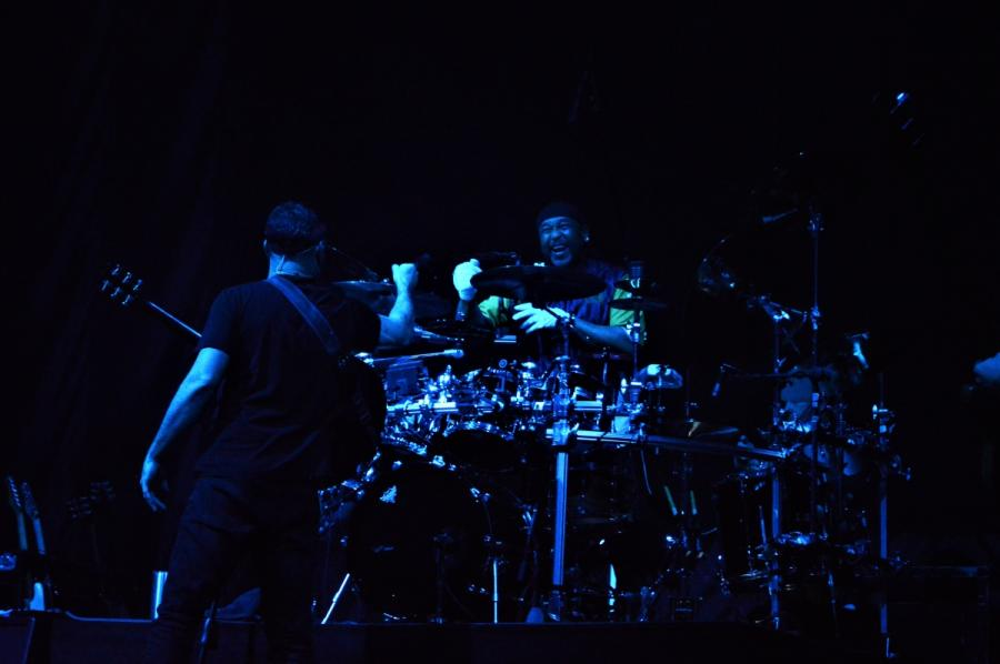 Dave Matthews oraz Carter Beauford. Koncert Dave Matthews Band, Warszawa, Torwar, 2019.03.25